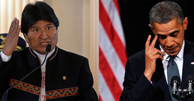 Evo Morales exigió a Obama pedirle perdón a Venezuela
