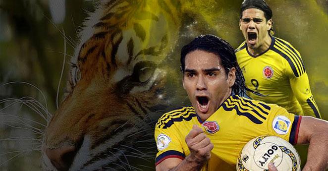 Colombia goleó 6-0 a Bahréin