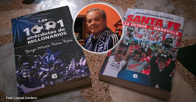 Jorge Mario Neira, escritor hincha de Milonarios