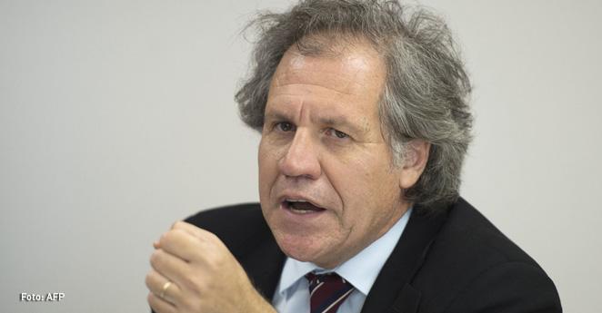 Luis Almagro, secretario general de OEA