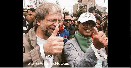Finaliza la Marcha por la Vida en Bogotá