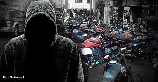 Secuestro de motos
