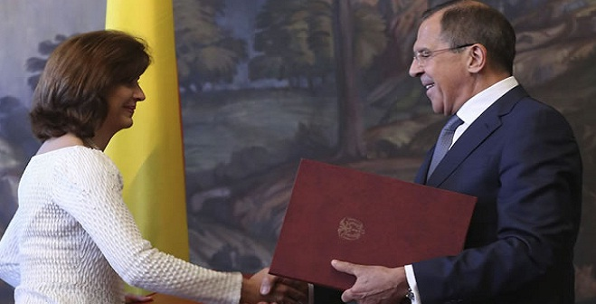 Rusia expresa su apoyo al proceso de paz con las FARC