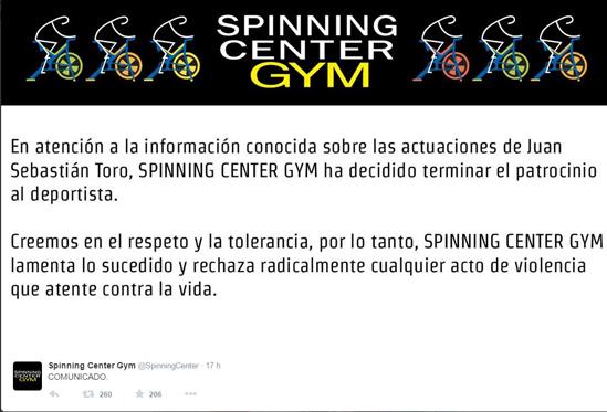 Spinning Center
