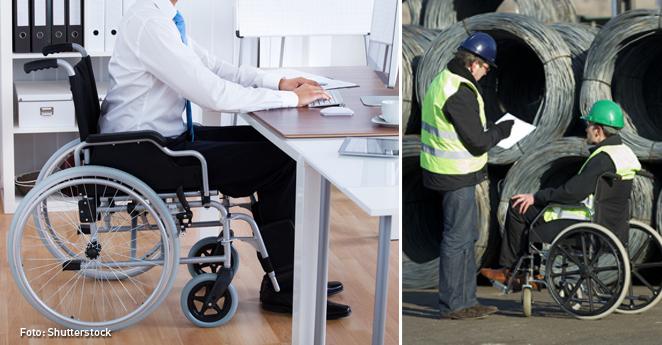 Trabajos discapacitados