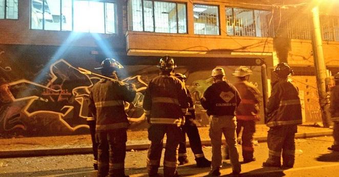 Policía investiga las causas de explosión de un petardo en Engativá
