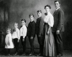 Foto de la familia de Magdaniel