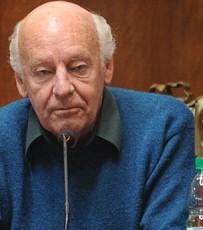 Uruguayan writer Eduardo Galeano speaks