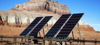 Energía solar, desierto
