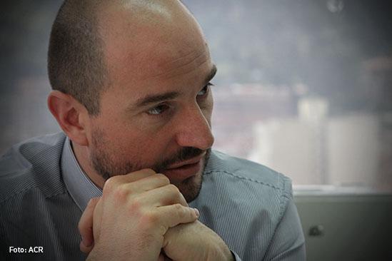 Joshua Mitrotti Director de la Agencia Colombiana para la Reintegracion