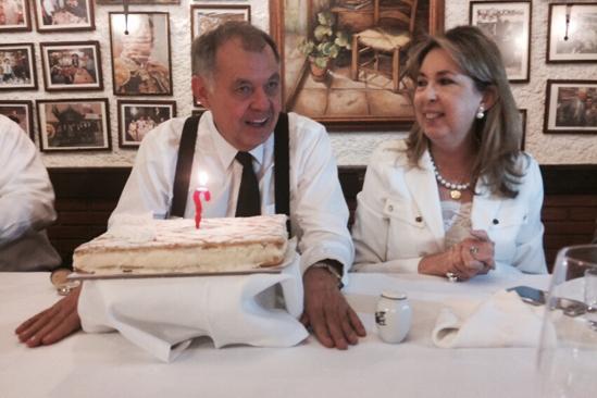 Alejandro Ordoñez y Beatriz Hernandez