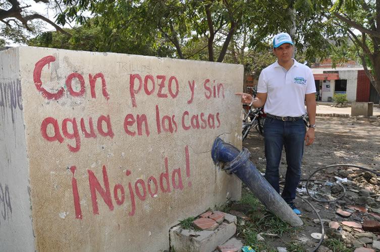 Plantean solución a la crisis de agua en Santa Marta