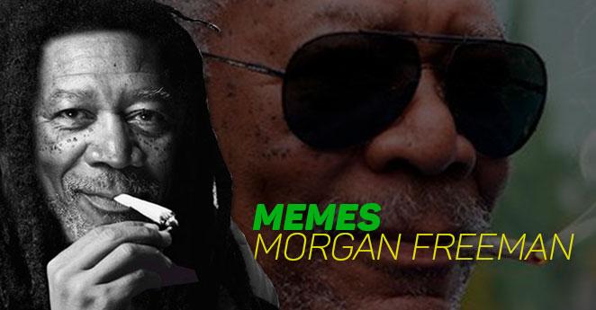 Morgan Freeman y su porro de memes