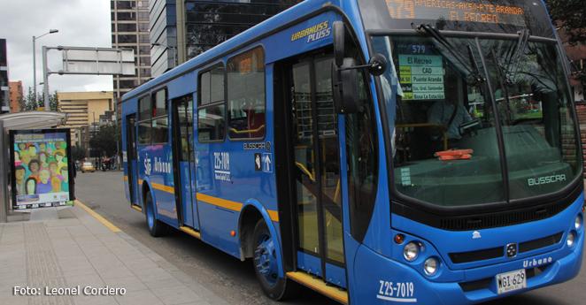 Hombre disfrazado de conductor se robó un bus del SITP