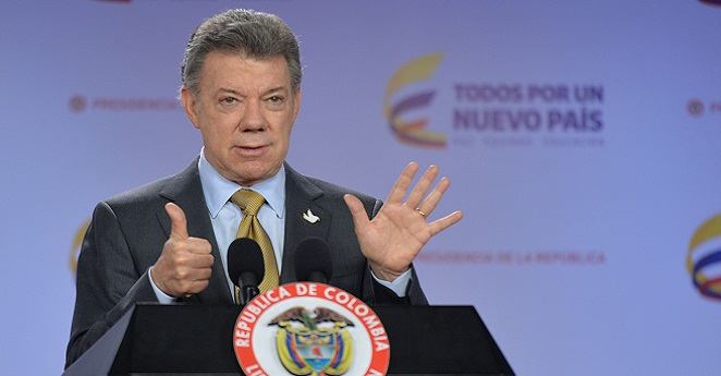 Santos facilitó encuentro entre jefes de las Farc y el Eln