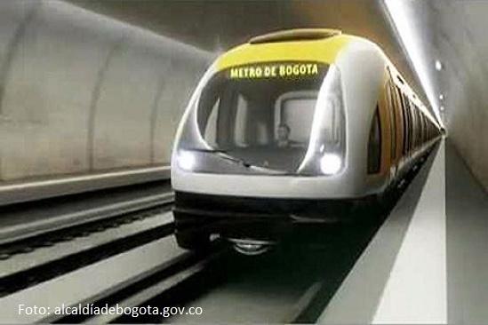 Gobierno nacional asumirá el 70% del metro para Bogotá