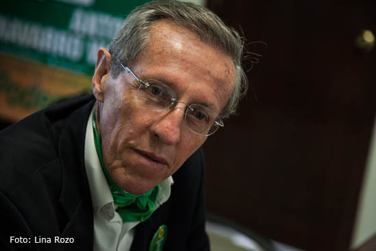 Antonio Navarro Wolf, senador