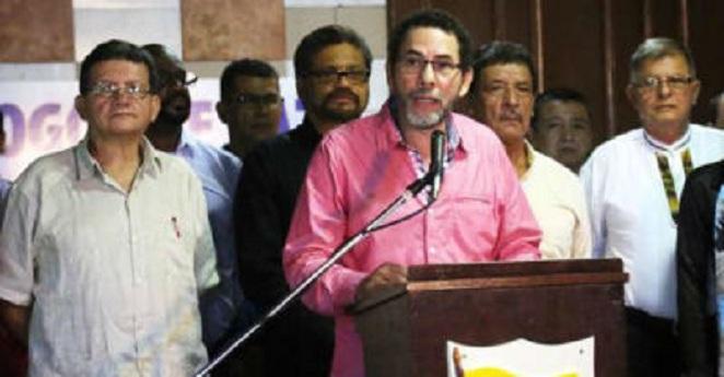 Farc critican anuncio del fiscal de revisar indultos al M-19