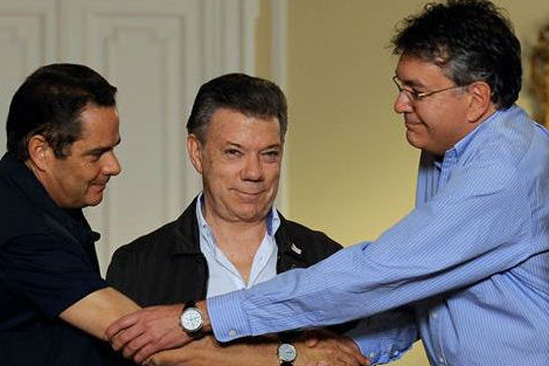 German Vargas Juan Manuel Santos Mauricio Cardenas