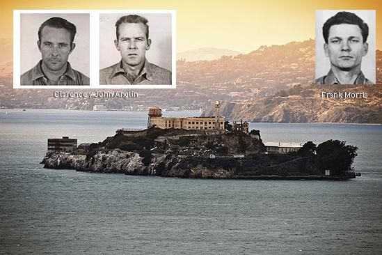 Alcatraz Clarence y John Anglin frank Morris