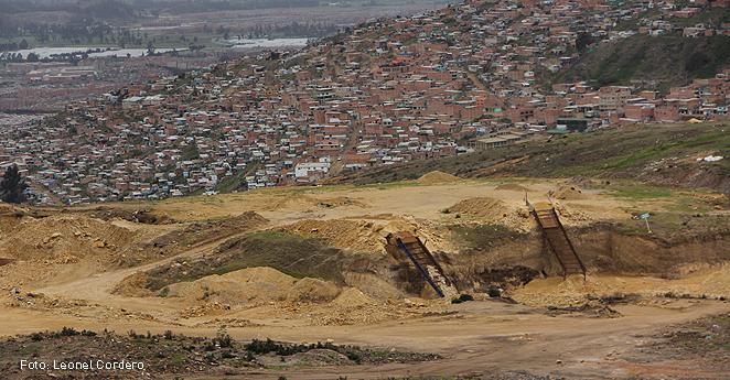 La mina que le 'sacó la piedra' a una localidad en Bogotá
