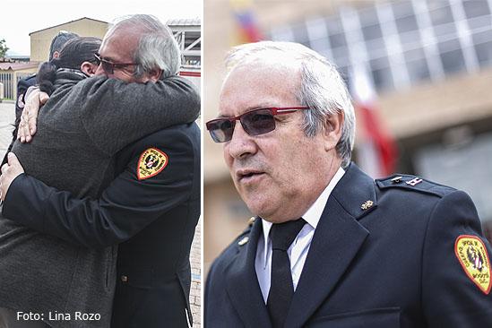 papa de bombero muerto