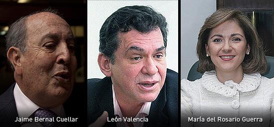 Jaime Bernal León Valencia y Maria del Rosario Guerra