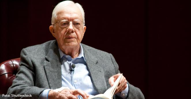 El expresidente estadounidense Jimmy Carter tiene cáncer