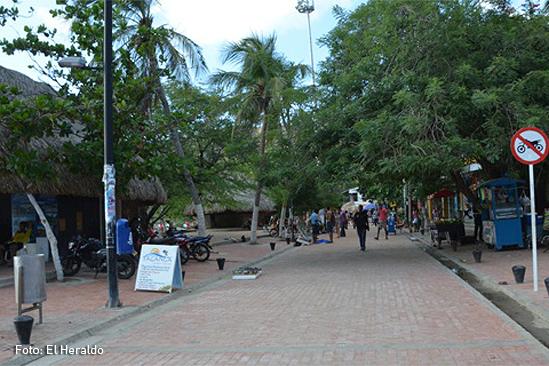 Taganga Calle principal