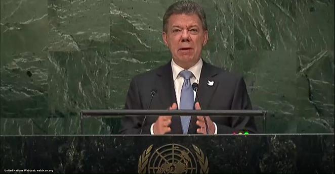 Santos pedirá a ONU efectividad en verificación del cese bilateral al fuego