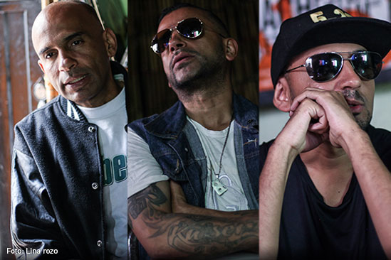 La Etnnia, Grupo musical de rap colombiano.