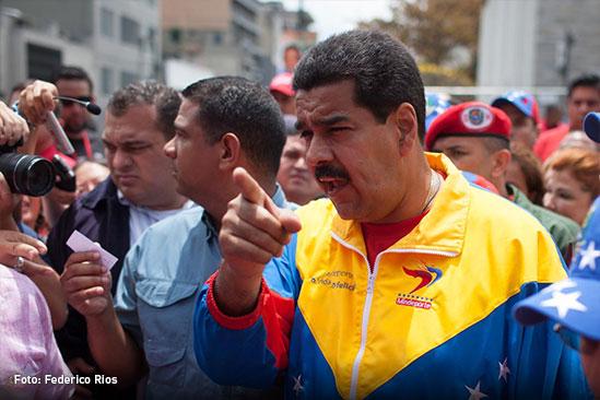 Maduro saldría a la calle a pelear por el pueblo si pierde elecciones