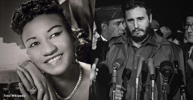 Cuando Fidel Castro prohibió la música de Celia Cruz