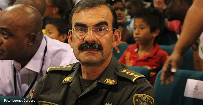 Rodolfo Palomino, director de la Policia Nacional, escandándalo en la policia Nacional