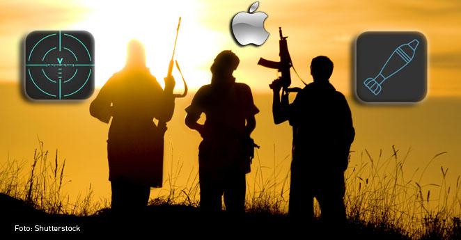 En tienda Apple se venden aplicaciones que podrían utilizar terroristas