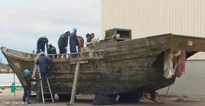 Misterio: Barcos llegan a las costas de Japón con muertos en las bodegas