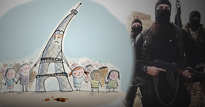 Así los franceses explican a sus niños el ataque de Isis