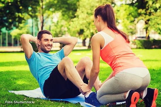 Diabetes tipo 2 haciendo ejercicio
