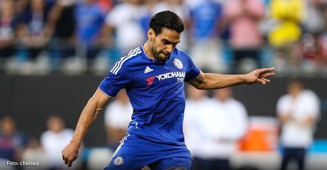 Falcao regresa a prácticas con el Chelsea