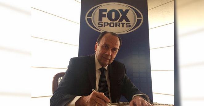 Fox Sports confirmó la incorporación de Hernán Peláez