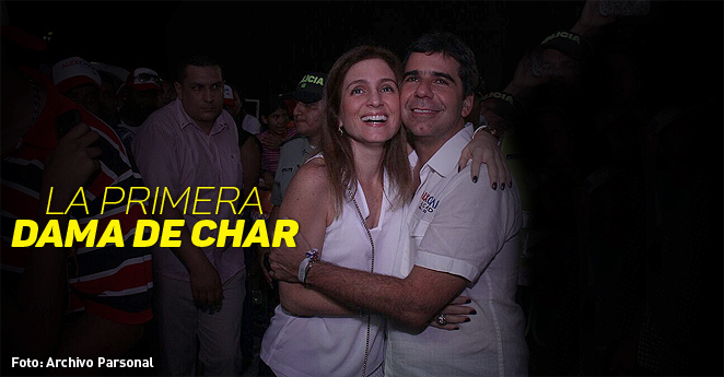 """Katia Nule: """"Alex Char no descansa y odia que le digan no"""""""