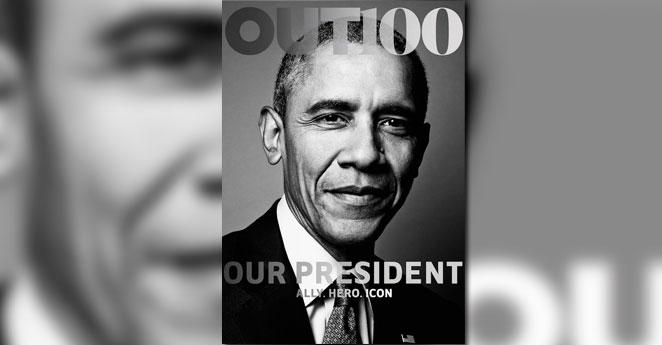 Obama protagoniza portada de revista LGBT