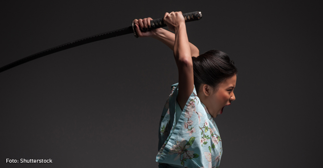 Bajar de peso a punta de espadazos está de moda en Japón