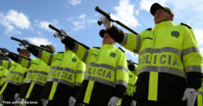 Patrulleros de la policía protestarán en el Congreso de la República