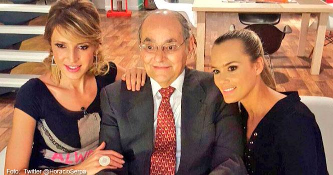 Horacio Serpa cumplió su promesa: Se quitó el bigote