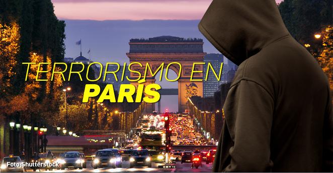 Estado Islámico se atribuye atentados en París