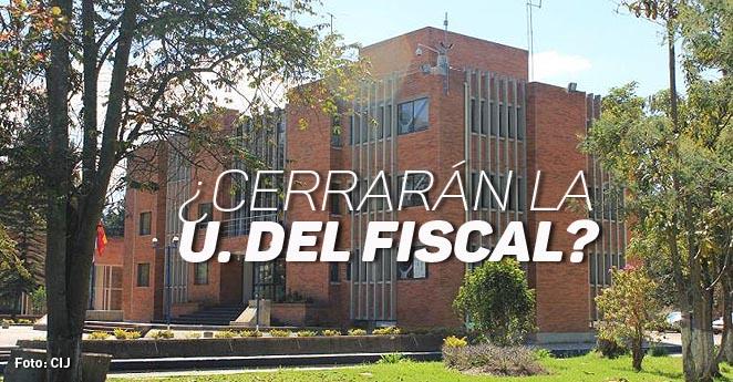 Los 36 estudiantes de la universidad de la fiscalía están en el limbo