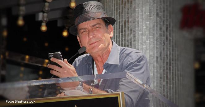 Charlie Sheen, un nuevo famoso que confiesa tener sida