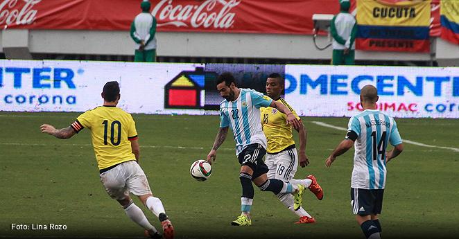 Argentina derrotó 1-0 a Colombia en Barranquilla