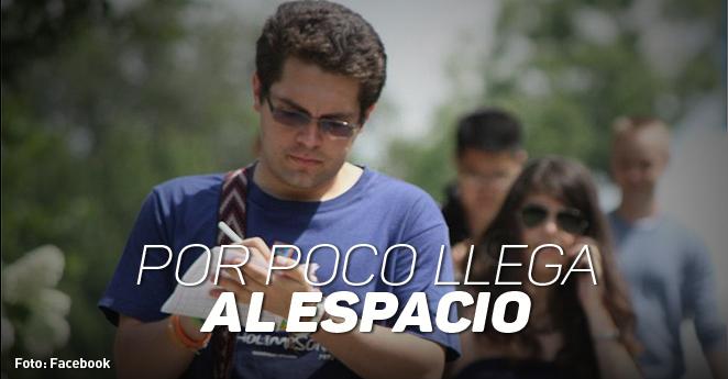 El colombiano que conoce el mundo a punta de becas